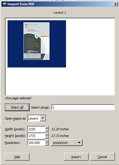 how to import a pdf file in word
