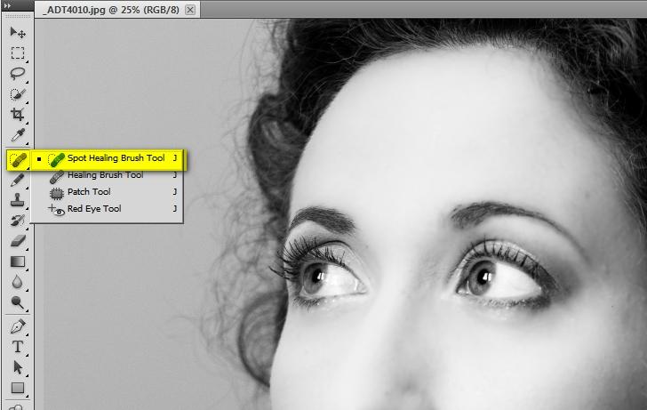 Photoshop CS5: pulizia della pelle facile e veloce