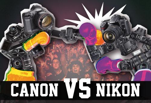 Canon vs. Nikon: l'eterna lotta