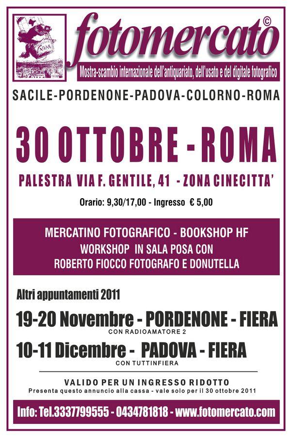 Fotomercato a Roma