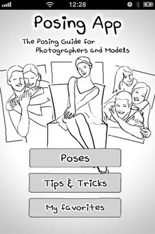 Posing App: 42 esempi di pose per modelli e modelle